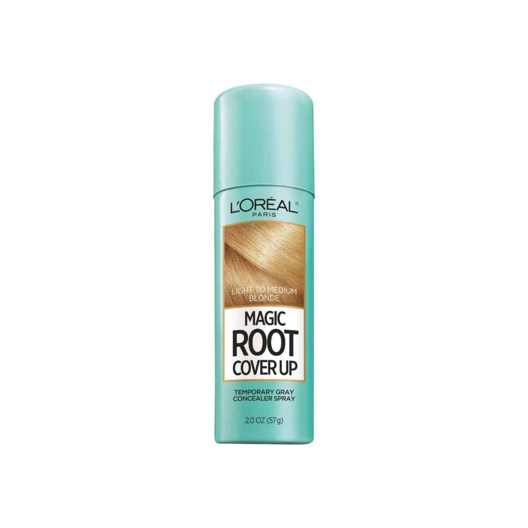 L'Oreal Paris Root Cover Up Temporary Gray Concealer Spray, Light to Medium Blonde 2 oz