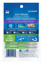 Load image into Gallery viewer, DenTek Easy Brush Cleaners Extra Tight 16 ea