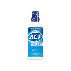 ACT Total Care Dry Mouth Anticavity Fluoride Mouthwash Soothing Mint 33.80 oz