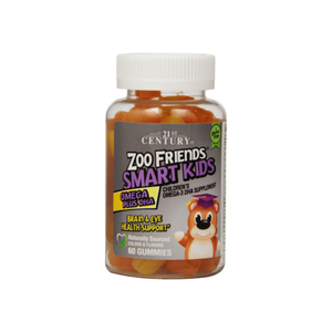 21st Century Zoo Friends Smart Kids Omega Plus DHA Gummies  60 ea - Pharmapacks