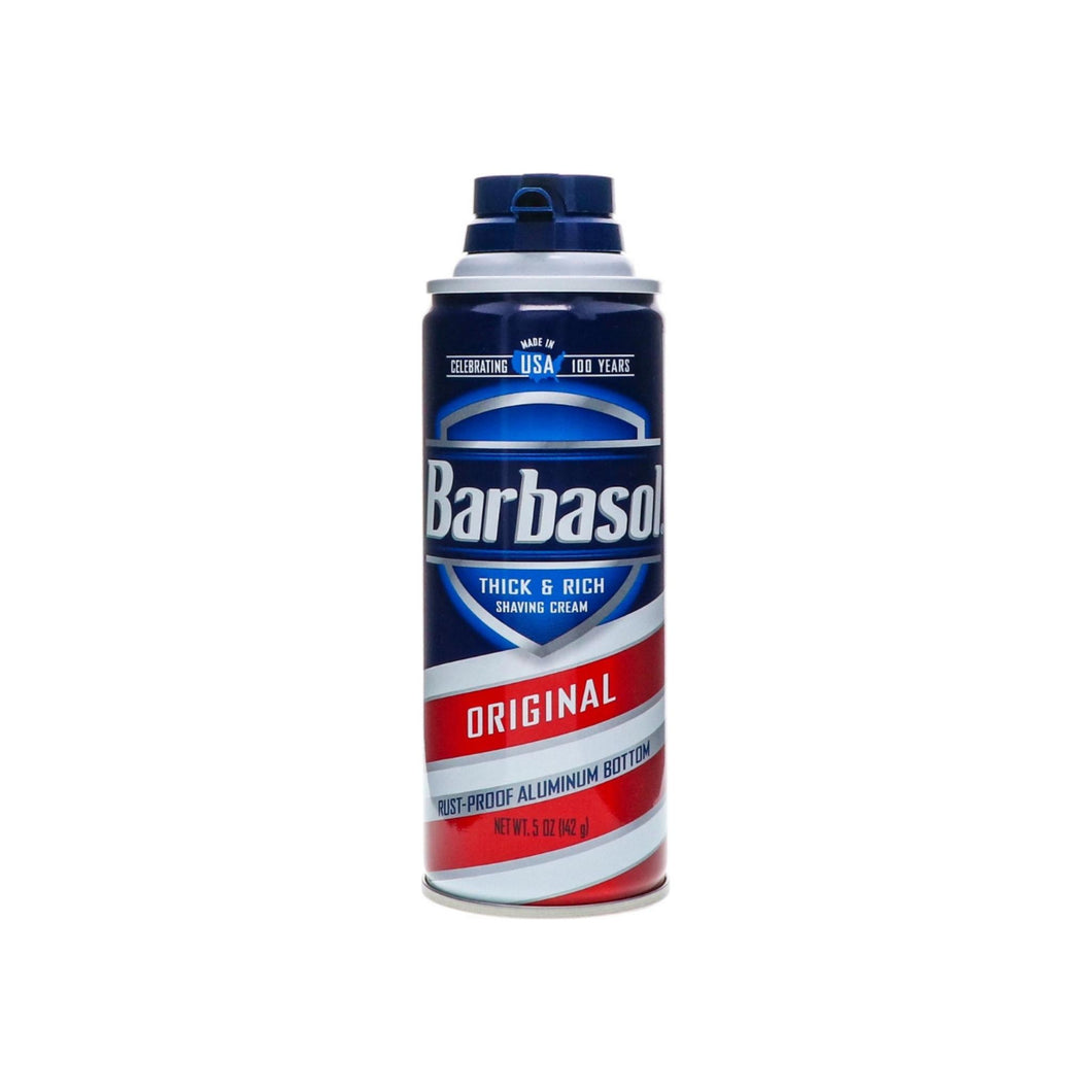 Barbasol Thick & Rich Shaving Cream, Original 6 oz
