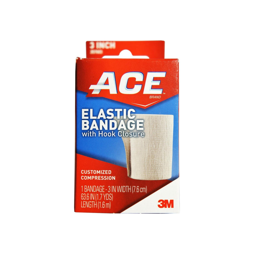 ACE Elastic Bandage with Hook Closure 3 Inch 1 ea