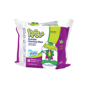 Kandoo Flushable Wipes, Refills, Magic Melon 100 ea