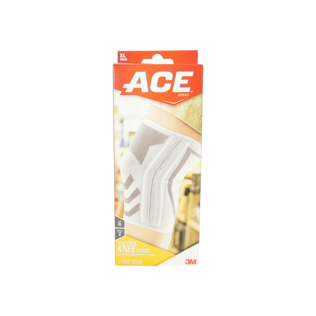 ACE Knitted Knee Brace With Side Stabilizers, Extra Large 1 ea - Pharmapacks
