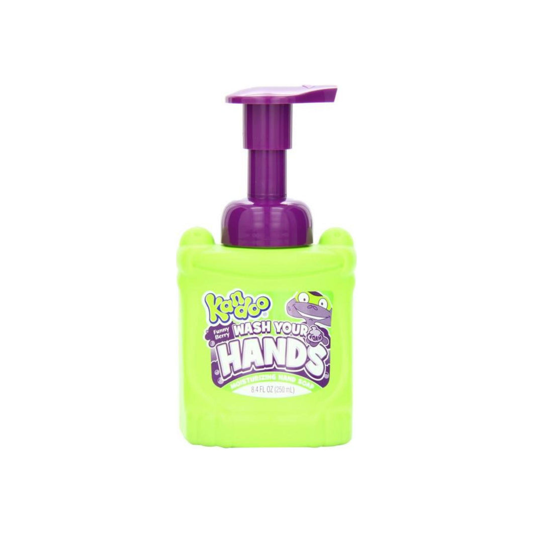 Kandoo Wash Your Hands Moisturizing Foam Hand Soap, Funny Berry Scent 8.40 oz