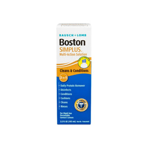 Bausch & Lomb Boston Simplus Multi Action Solution with Daily Protein Remover 3.5 oz