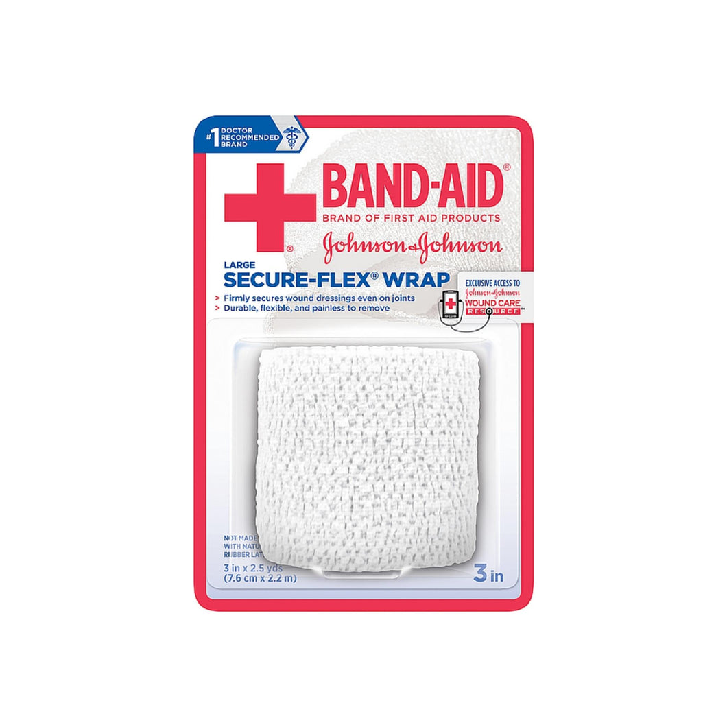 BAND-AID First Aid Secure-Flex Wrap, Large 1 ea