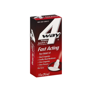 4-Way Fast Acting Nasal Spray 1 oz - Pharmapacks