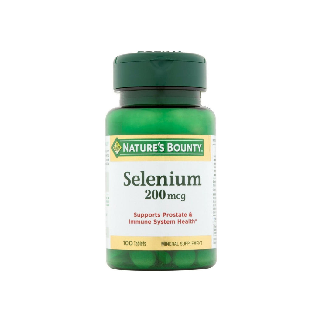 Nature's Bounty Selenium 200 mcg Tablets 100 ea