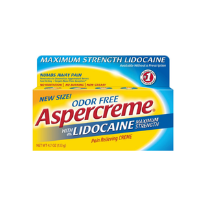 ASPERCREME Pain Relief Cream with Lidocaine 4.7 oz