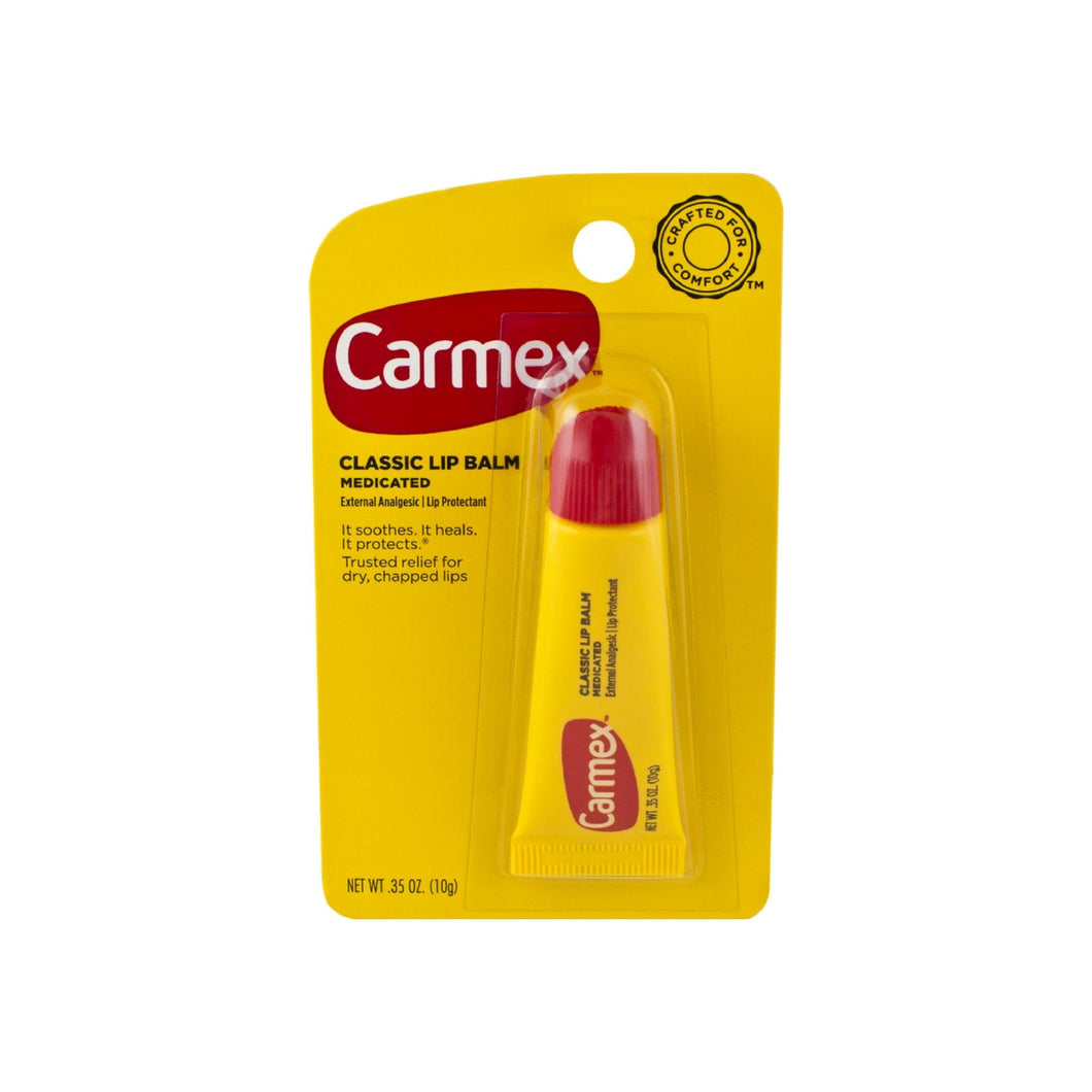 Carmex Classic Lip Balm Medicated 0.35 oz
