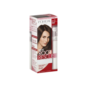L'Oreal Paris Root Rescue 10 Minute Coloring Kit, Medium Brown [5] 1 ea