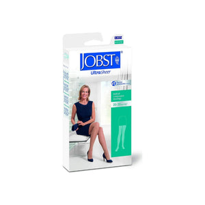 JOBST Medical LegWear Thigh High 20-30 mmHg Ultra Sheer Medium Silky Beige 1 Pair