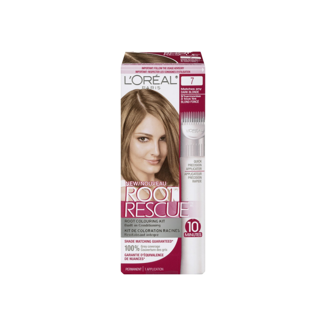 L'Oreal Paris Root Rescue 10 Minute Root Coloring Kit, Dark Blonde 1 ea