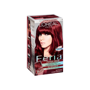 L'Oreal Paris Feria Power Reds High-Intensity Shimmering Color, Intense Deep Auburn [R48] (Warmer) 1 ea