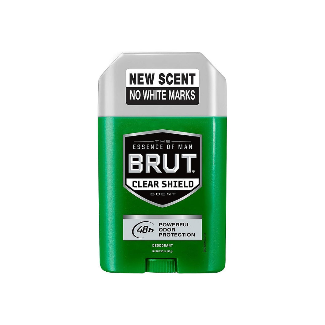 BRUT Clear Shield Deodorant 2.25 oz