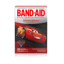 Load image into Gallery viewer, BAND-AID Bandages Disney Cars Assorted Sizes 20 Each