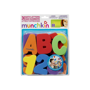 Munchkin Bath Letters & Numbers Bath Toys 1 ea