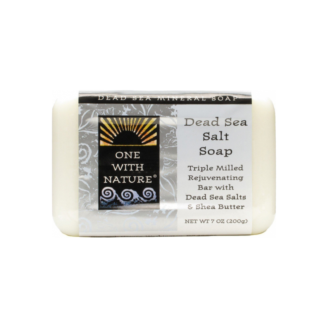 Dead Sea Salt Soap by One With Nature - Thrive Market