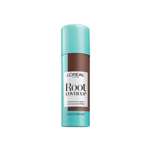 L'Oreal Paris Root Cover Up Temporary Gray Concealer Spray, Medium Brown 2 oz