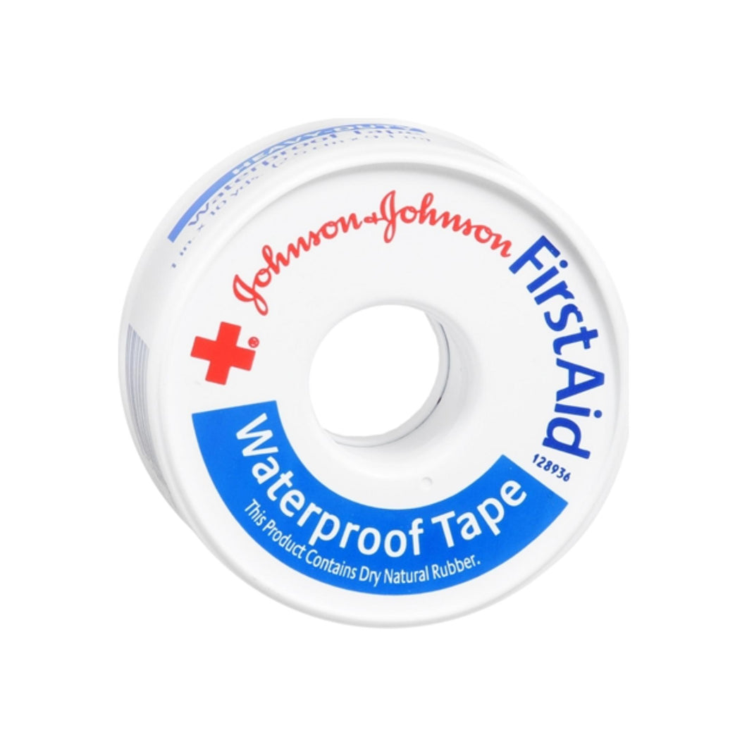 JOHNSON & JOHNSON Red Cross First Aid Waterproof Tape 1 Inch X 10 Yards 10 Yards