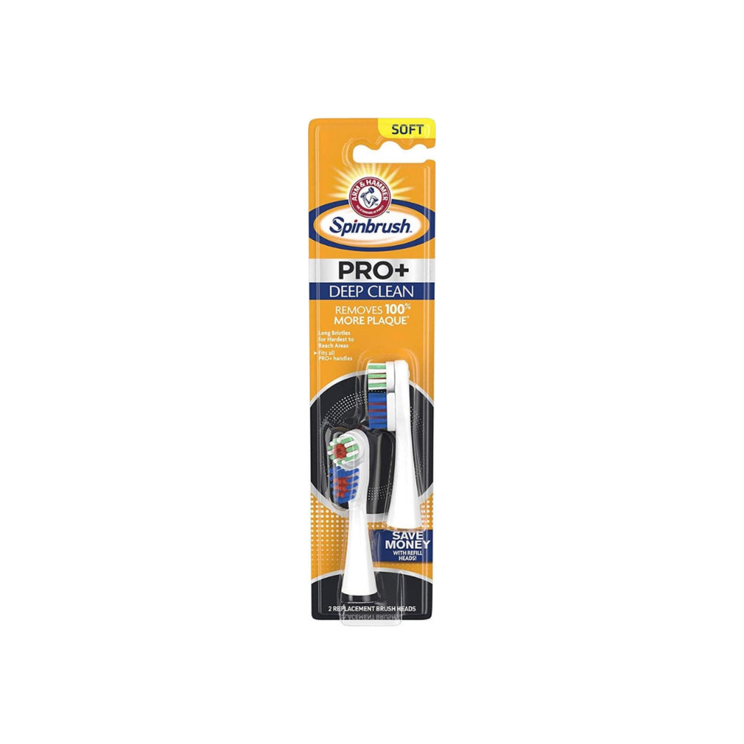 ARM & HAMMER Spinbrush Truly Radiant, Deep Clean, 2 ea