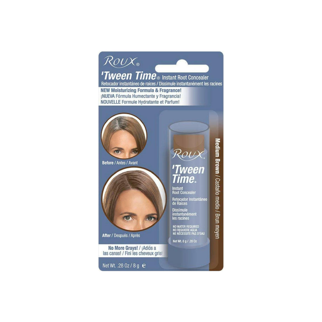 Roux 'Tween Time Instant Root Concealer Touch-Up Stick Medium Brown, 1 ea