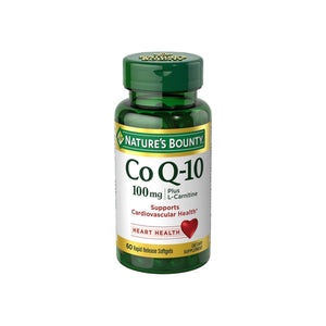 Nature's Bounty Co Q-10 Plus L-Carnitine 100 mg Softgels 60 ea
