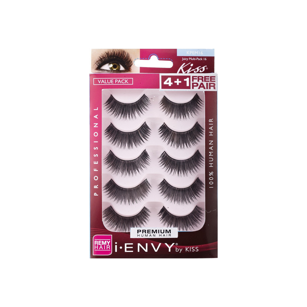 KISS I-Envy Juicy Multi Pack Eyelashes 5 ea