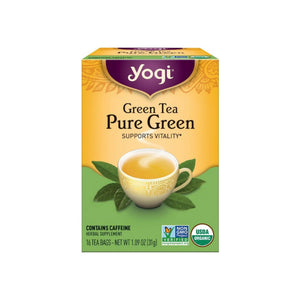 Yogi Tea Pure Green 16 ea