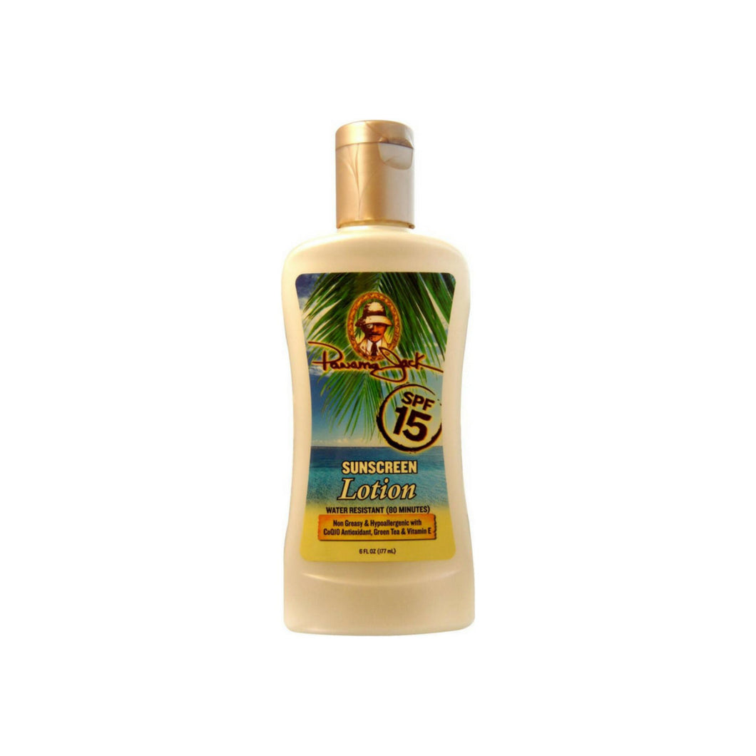 Panama Jack Sunscreen Lotion SPF 15 6 oz