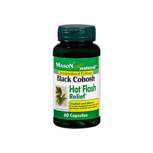 Mason Black Black Cohosh Hot Flash Relief Capsules 60 ea