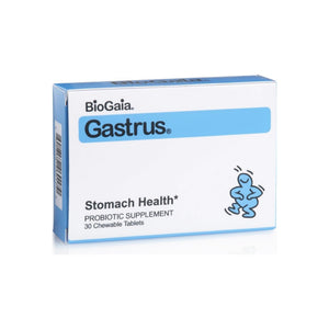 BioGaia Gastrus Chewable Tablets 30 ea