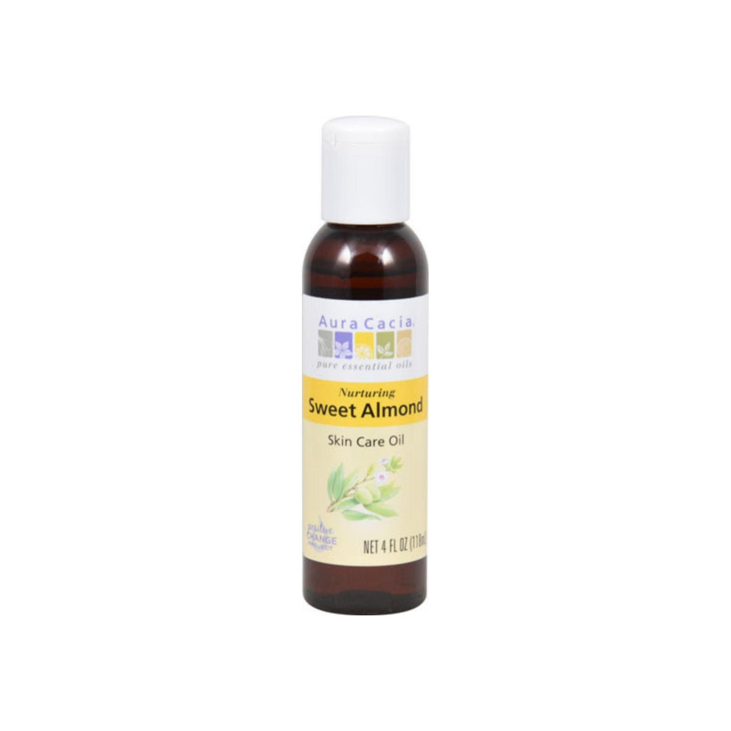 Aura Cacia Sweet Almond Skin Care Oil 4 oz