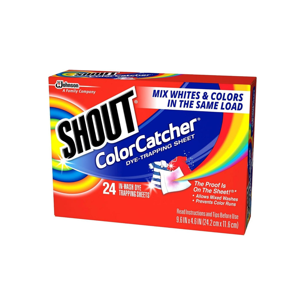 Shout Color Catcher In-Wash Dye-Trapping Sheets 24 ea [046500622489]
