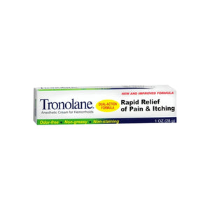 Tronolane Anesthetic Cream for Hemorrhoids 1 oz