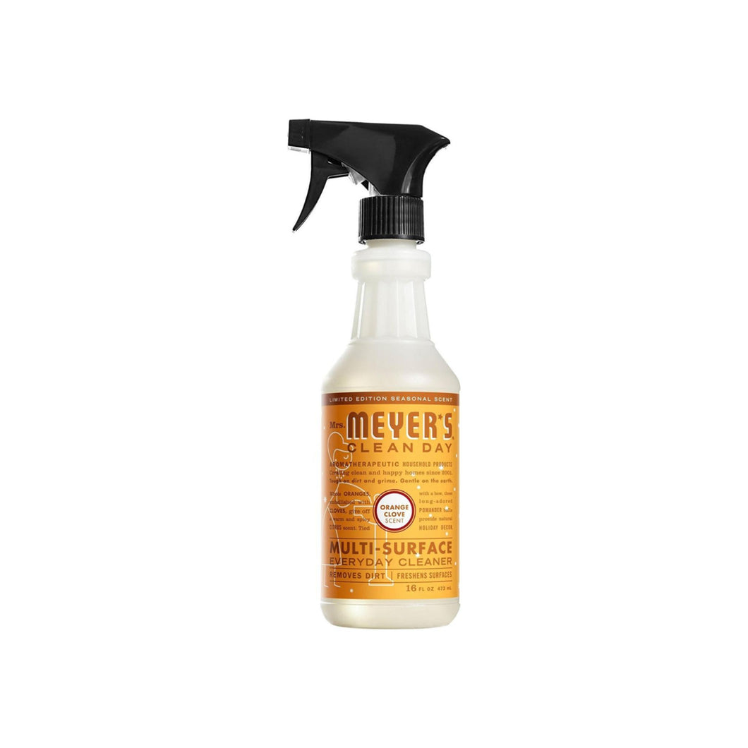 Mrs Meyers Multi-Surface Everyday Cleaner, Orange Clove  16 oz