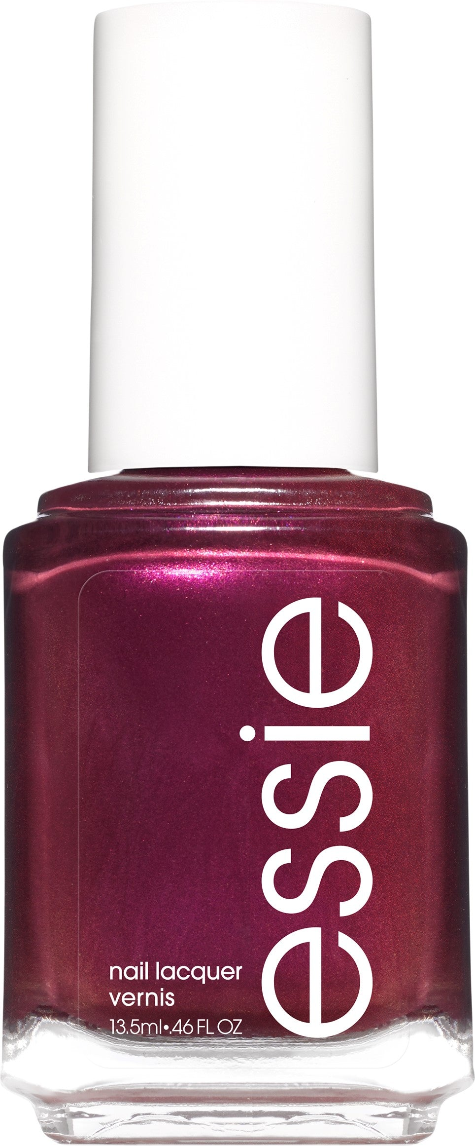 essie nail polish, flying solo collection, mid-tone plum polish, without reservations, 0.46 OZ