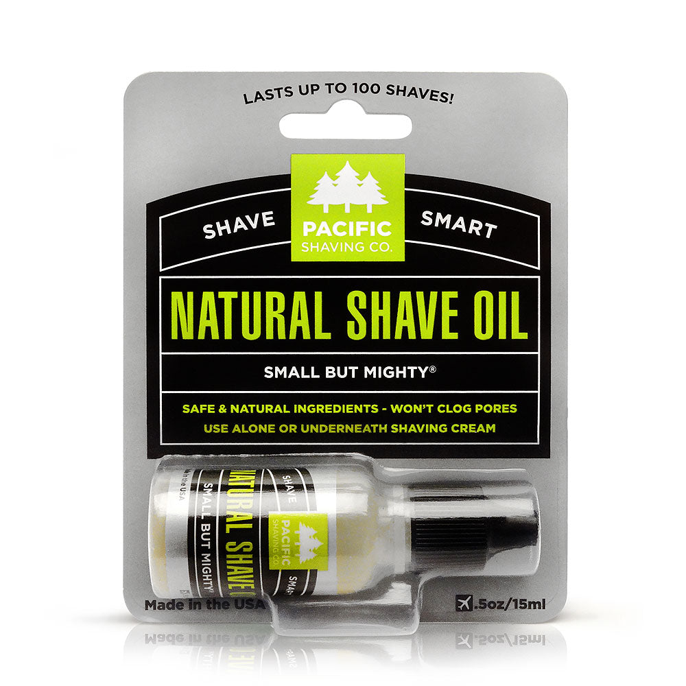Pacific Shaving Company All Natural Shaving Oil 0.5 oz