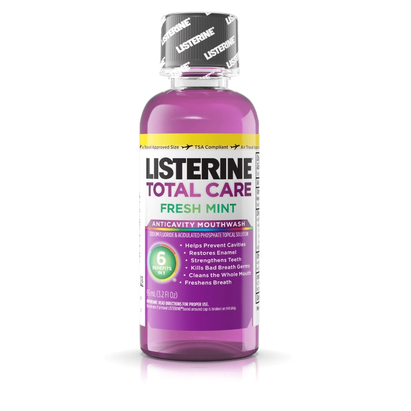 Listerine Total Care Anticavity Mouthwash Fresh Mint