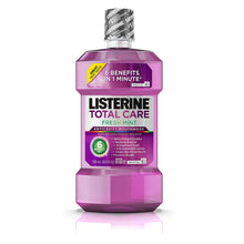Load image into Gallery viewer, Listerine Total Care Anticavity Mouthwash Fresh Mint