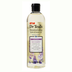 Dr Teal's Body & Bath Oil, Soothe & Sleep with Lavender 8.8 oz