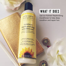 Load image into Gallery viewer, Jane Carter Solution Nutrient Replenishing Conditioner (8oz) - Nourishing, Repairing, Restorative, 1each