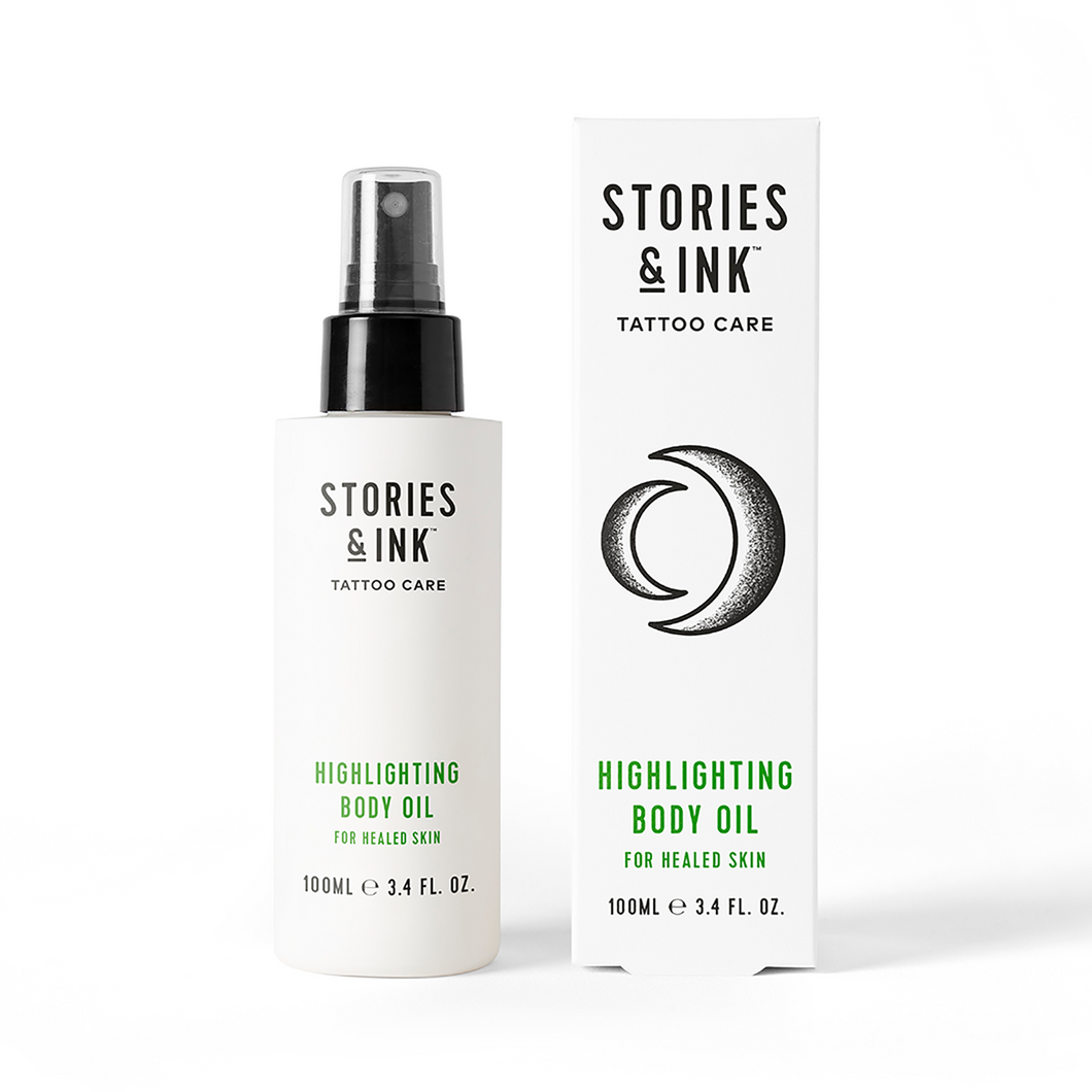 Stories & Ink Highlighting Body Oil