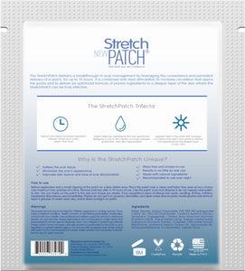 Stretch Patch Scar Patch+ High Potency Formula - Lotion Infused Hot Patch for SCARS 7 Patches per pack