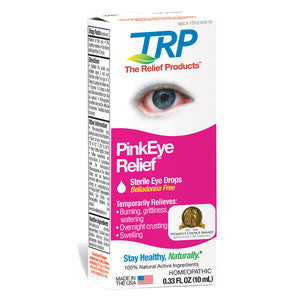 The Relief Products Pink Eye Relief Homeopathic Sterile Eye Drops 0.33 oz