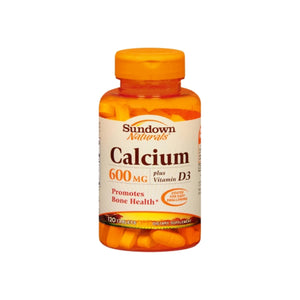 Sundown Calcium 600 mg + D Caplets 120 Tablets