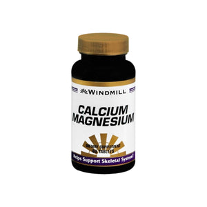 Windmill Calcium Magnesium Tablets 60 Tablets