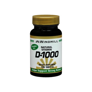 Windmill D-1000 Tablets 100 Tablets
