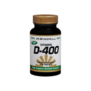 Windmill D-400 Tablets 250 Tablets